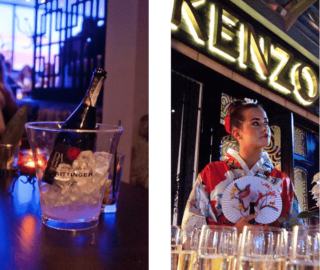 Become a member at Kenzo 72